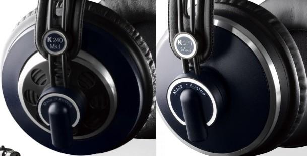 AKG 240 - słuchawki otwarte i AKG 271 - słuchawki zamknięte