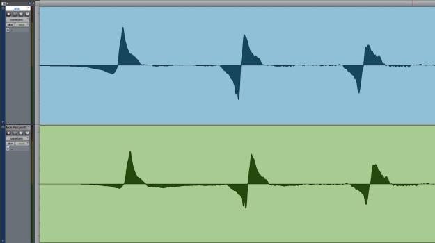 Squier Precision Bass - Boss CS-2 buforowany przez Focusrite Platinum Penta
