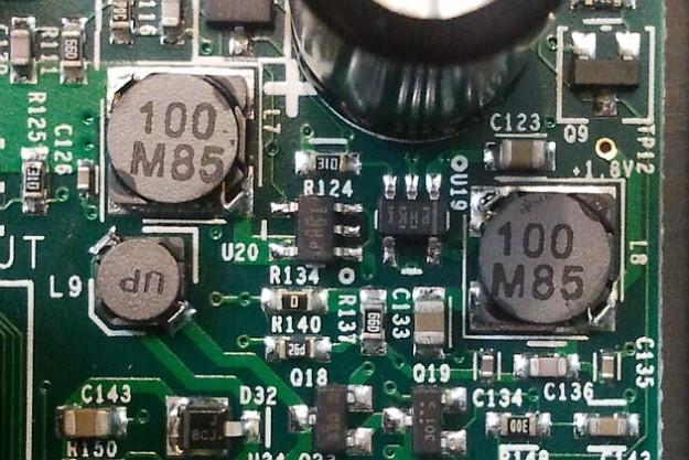 EMU Tracker Pre w środku