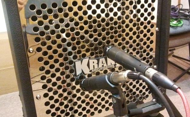 Ustawienie mikrofonów SM57