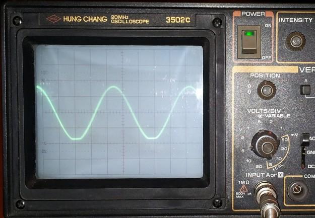 Sygnał na wyjściu bufora