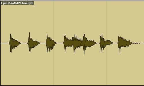 Epiphone Les Paul Junior DAW-AMP poziom