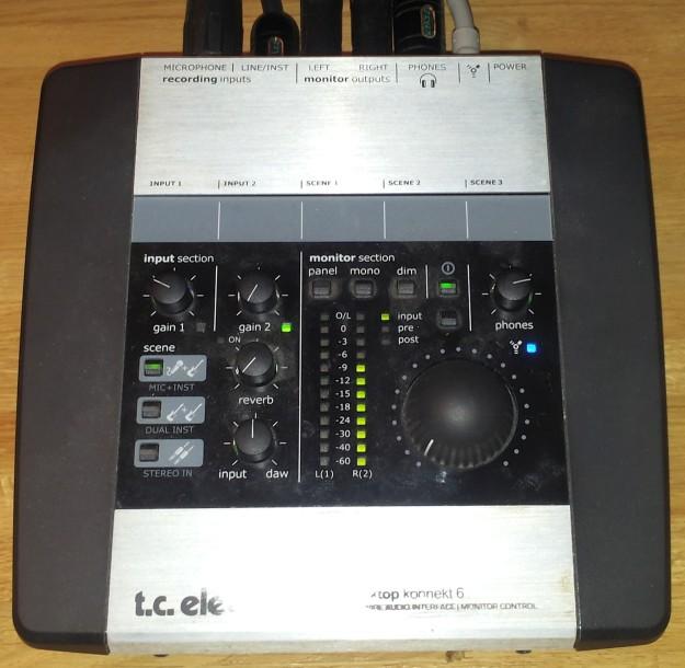 TC Konnekt 6 - kalibracja we-wy