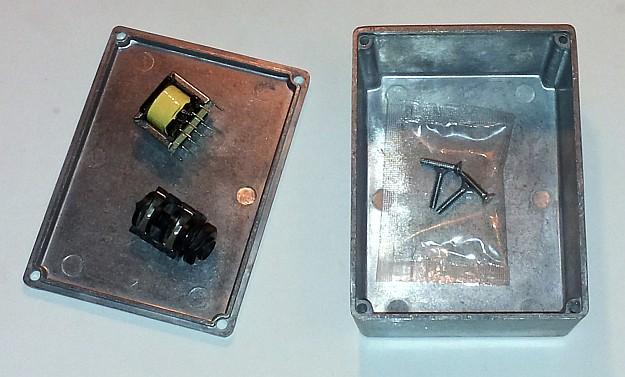 transformator liniowy i gniazdo jack