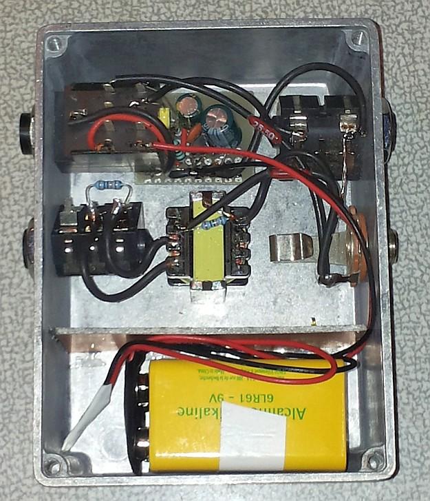 DAW-AMP prototyp #0002