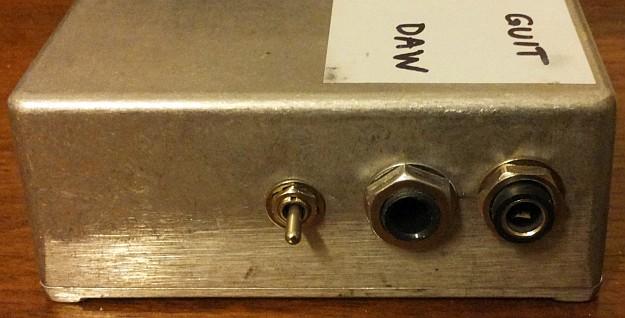DAW-AMP prototyp #0001