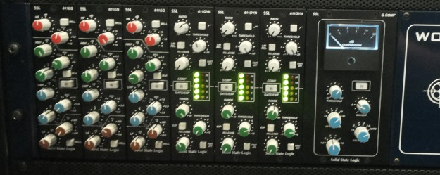 SSL Bus Compressor 500