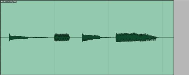 Stratocaster DAW-AMP +4dBu
