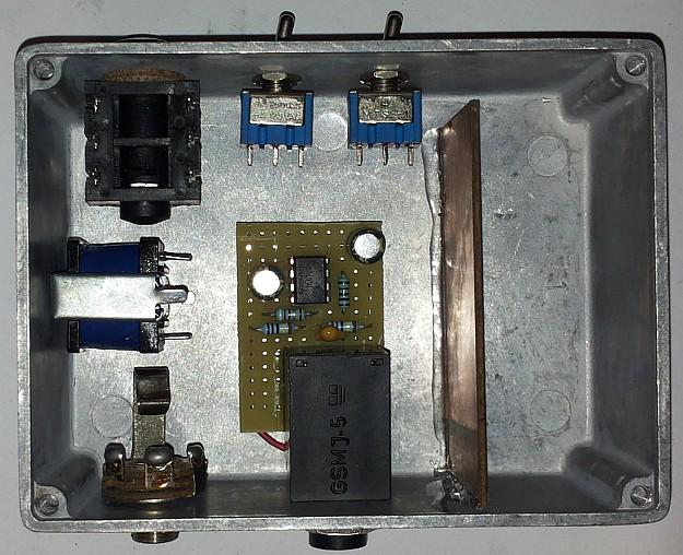 Prototyp DAW-AMPa w budowie, jeszcze bez kabelków ;)