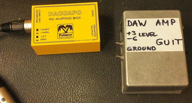 Daccapo i DAW-AMP