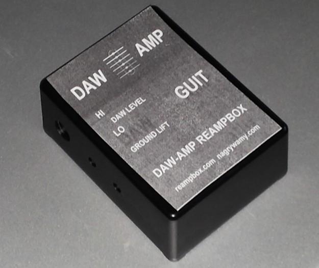 DAW-AMP - makieta do sitodruku