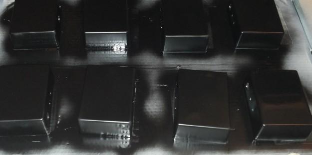 DAW-AMP malowanie - czarny kolor docelowy