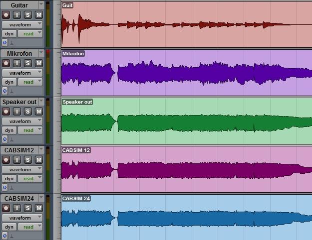 Różne symulatory zestawu głośnikowego