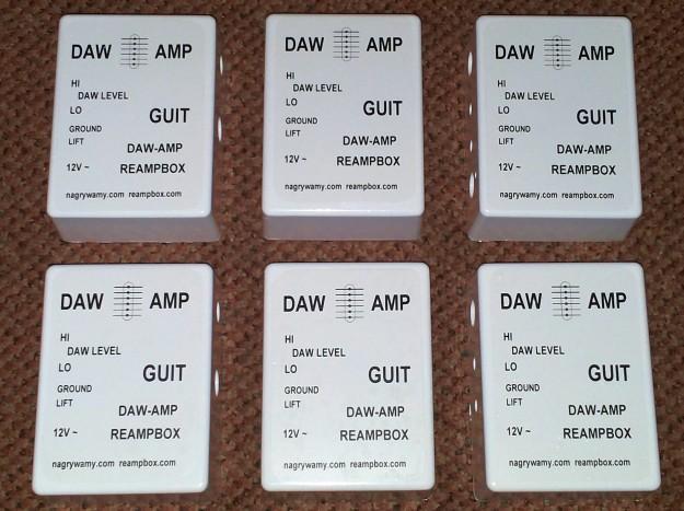 DAW-AMP - gotowe obudowy