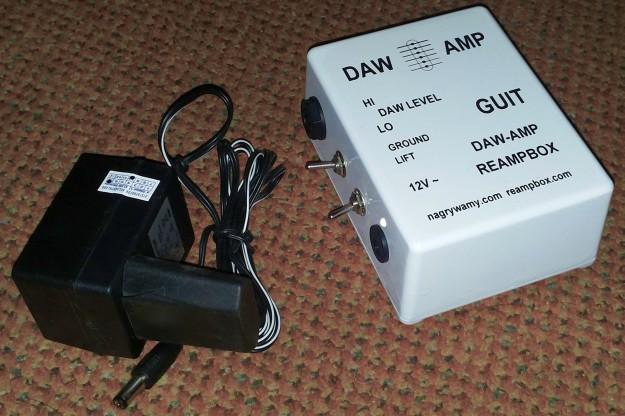 DAW-AMP white - gotowe urządzenie