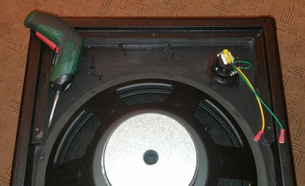 Combo basowe TC Electronic BG250 od środka