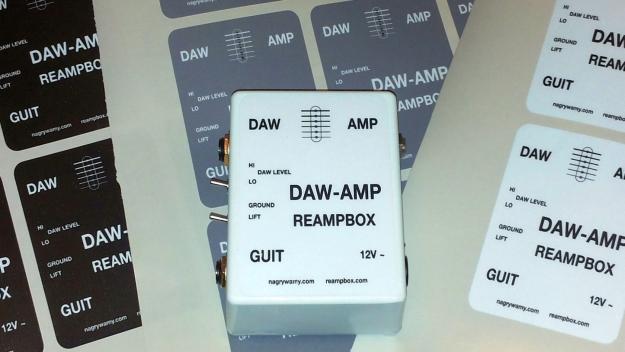 DAW-AMP zmontowany i gotowy