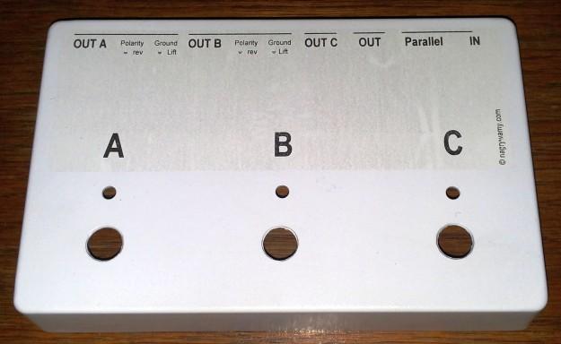switcher - obudowa z napisami