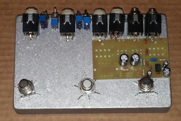 Switcher - rozmieszczenie elementów