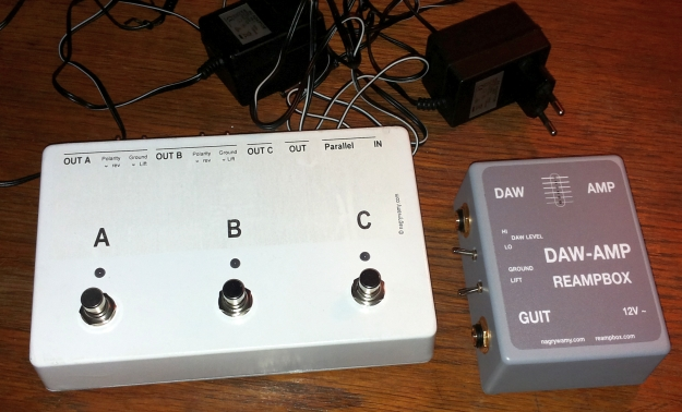 Switcher i DAW-AMP