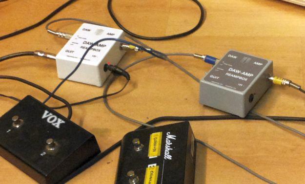 DAW-AMP biały i DAW-AMP szary ;)
