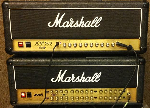 Marshall JCM900 i Marshall JVM