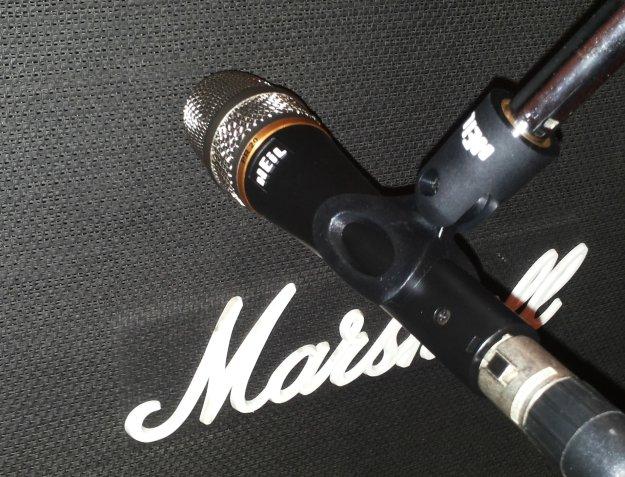 Marshall 1960 V30 i Heil PR 20