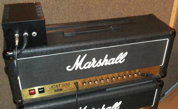 Powerbrake PB100 i Marshall JCM 900