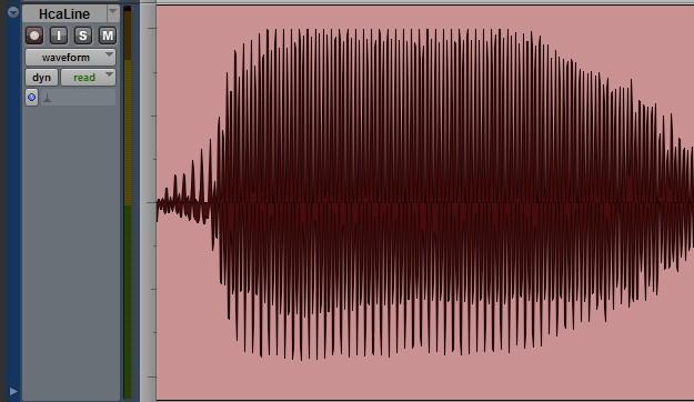 Poziom nagrania mikrofonem Shure 545SD