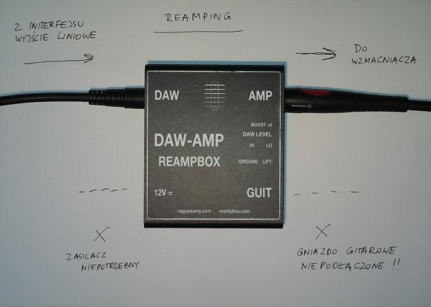 DAW-AMP - reamping