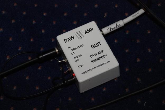 Wolf Spider i DAW-AMP