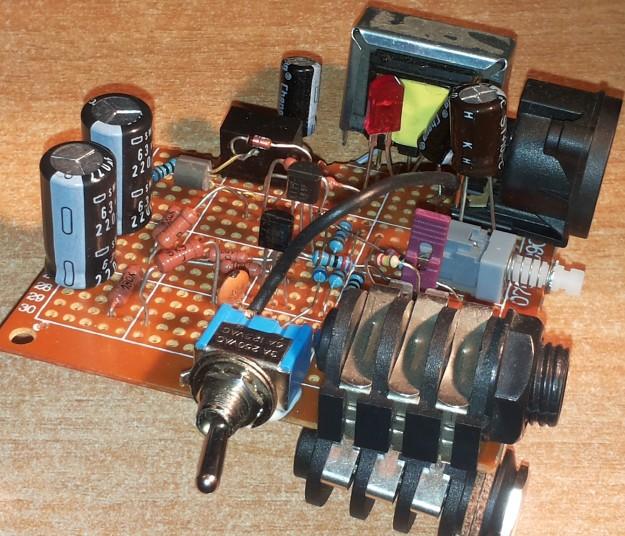 DAW-AMP 3 transformator