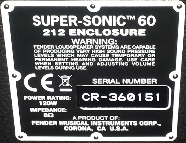 Fender Supersonic
